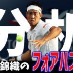 【テニス】錦織圭のフォアハンド解説