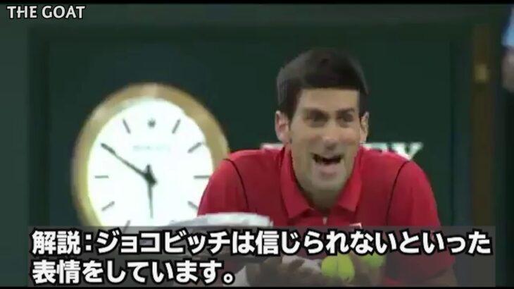 【テニス/和訳】レイトコールを巡る醜い争い|ジョコビッチ vs ツォンガ  @上海オープン 2013 (再アップ)