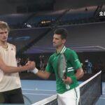 【マッチハイライト】ノバク・ジョコビッチ vs アレクサンダー・ズベレフ/全豪オープンテニス2021 準々決勝【WOWOW】