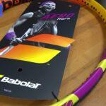 新製品紹介 テニスラケットBabolat Pure Aero Rafa