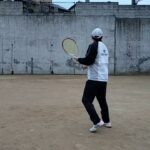 <『F N TENNIS CONSULTING』<CEO>>2021/3/11(木)18:20~18:45【T PRIVATE】自分史上最良動作を微改良『壁テニス』『CAMERA(2)』1/4