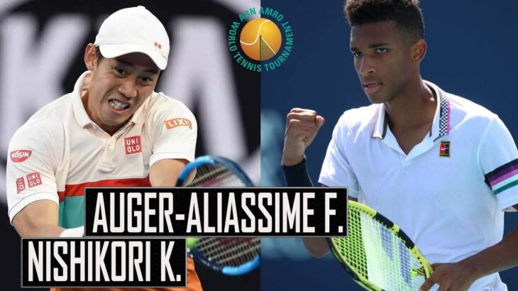 Kei Nishikori (錦織 圭) vs Felix Auger-Aliassime | Full Highlights | Rotterdam ATP 2021