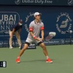 Kei Nishikori 錦織圭 vs Reilly Opelka Highlights (R1) | Dubai 2021