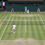 Nishikori (錦織) VS Federer (フェデラー) Wimbledon 2019