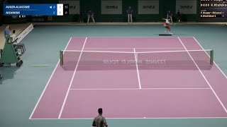 [PS4 TVGAME] Nishikori VS Aliassime Tennis World Tour 2