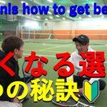 【TENNIS/テニス】6 Tips to Strengthen Tennis/テニス強くなる6つの秘訣