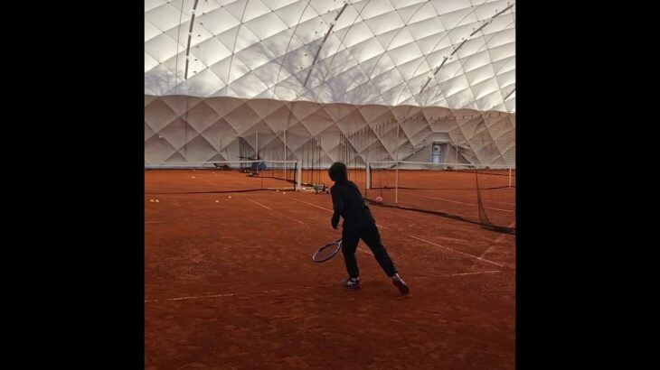 Tennis training テニストレーニング