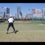【テニス】tennis 芝浦シングルスマッチ練202103 全日本ベテランテニス②