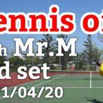 テニスオフ 2021/04/20 シングルス Mさん 3セット目