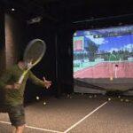 ✅  フェデラーのボールを体験できる、テニス・シミュレーターが登場。東京・銀座のビルの地下に25日オープンした、テニス・シミュレーター施設「テニスル」。1面の広さは、通常のテニスコートのおよそ4分の1
