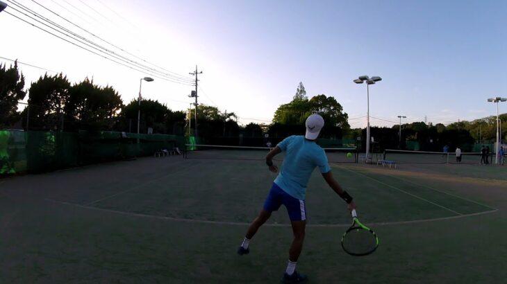 【テニス】ナダルに憧れてる25歳のトップスピン集!!【rafael nadal spin】