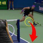 【テニス】衝撃!試合中に見せたポール回し7選