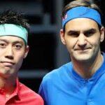 Kei Nishikori 錦織 圭 vs Roger Federer  テニス
