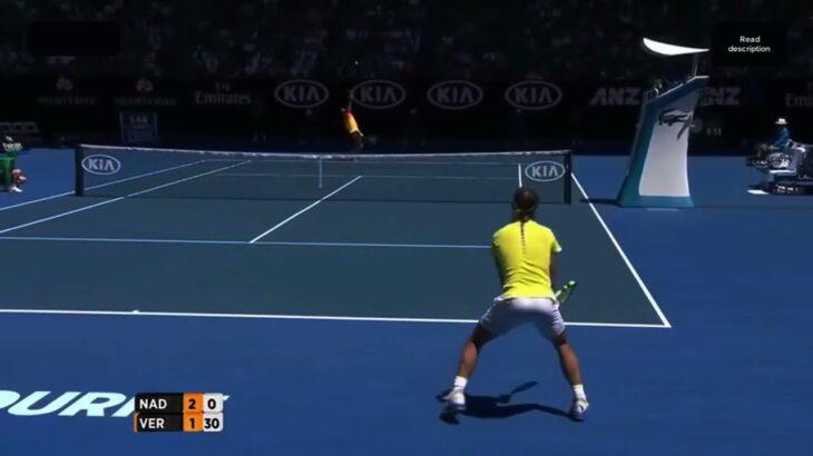 Nadal (ラファエル ナダル) VS Verdasco (ベルダスコ)