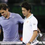 Roger Federer ロジャー・フェデラー vs Kei Nishikori 錦織 圭 テニス
