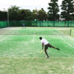 Self taught tennis 独学テニス