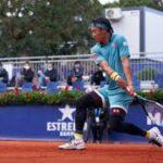 錦織圭VSクリスチャンガリン-バルセロナオープンバンクサバデル