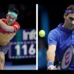 錦織 VS  ロジャー・フェデラー Federere テニス