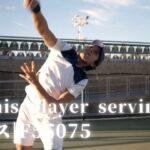 Yaku VideoLibrary|視頻資源庫|網球|社会活動|Tennis player serving|テニス|F55075