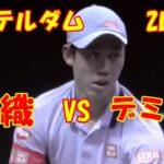 #nishikori【錦織圭 VS デミノー】ロッテルダム 2回戦!