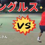 【テニス】シングルス にしおじさんvsましゃる!!