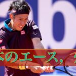 【テニス戦術】錦織圭,復活を予感させる好プレー!赤土の王者ナダルに肉薄 錦織圭vs R.ナダル