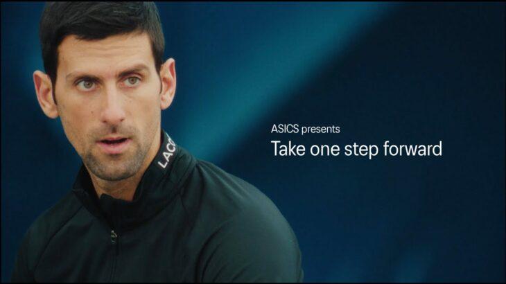 アシックス x ノバク・ジョコビッチ – Take one step forward – (short ver.)|ASICS TENNIS|アシックス