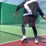 #錦織圭#オートテニス#久我山 300円で4分 いい運動になります。テニス🎾おもしろいです