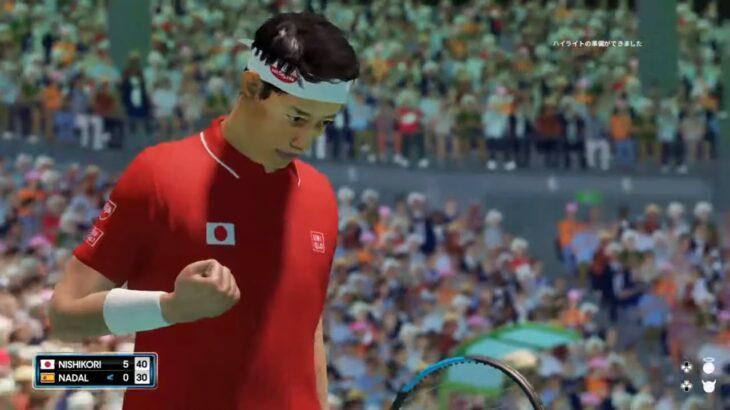 【AO TENNIS 2】伝説!銅メダルを獲得した錦織圭 v ナダル – リオ五輪 2016