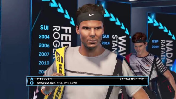 【AO TENNIS 2】完全再現!フェデラー v ナダル – 全豪 2017