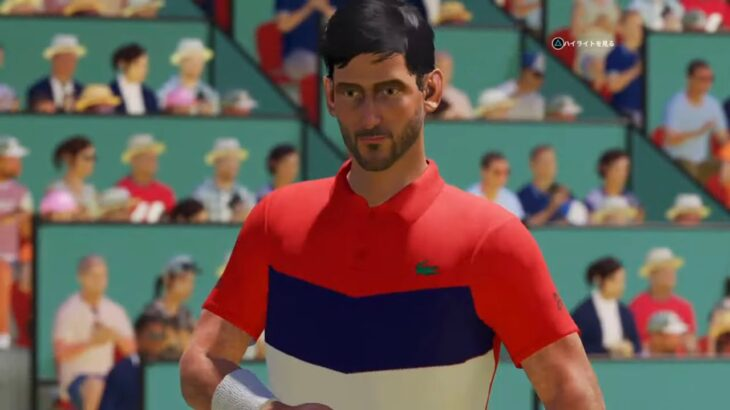 【AO TENNIS 2】ファンの記憶に深い!錦織圭 v ジョコビッチ – マドリッド 2018