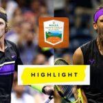 Andrey Rublev アンドレイ・ルブレフ vs Rafael Nadal ラファエル・ナダル