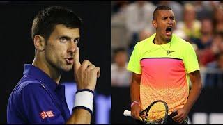 Djokovic (ジョコビッチ) VS Kyrgios (キリオス) テニス