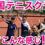 英国🇬🇧テニスクラブってこんな感じです! | First Tennis session of 2021 at the club in London 🎾
