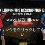 【N.ジョコビッチvs R.ナダル】決勝 2021イタリア国際ローマ ライブ配信LIVE「Rafael Nadal vs Novak Djokovic」 のテレビ放送・インターネットライブ中継