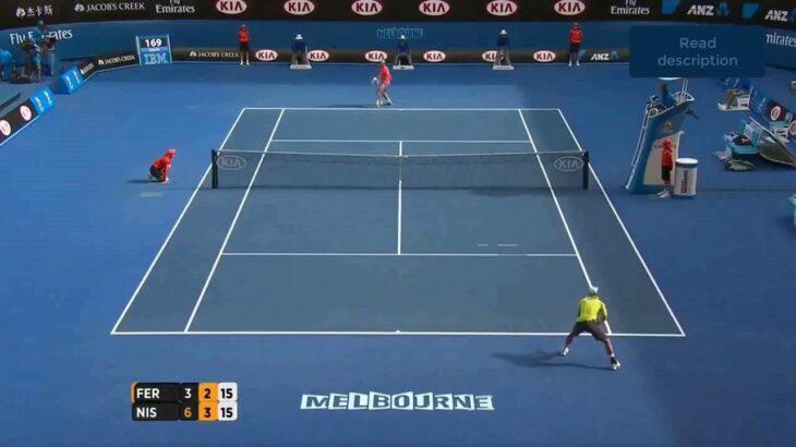 Nishikori (錦織) VS Ferrer (フェレール)