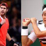 錦織 圭 Nishikori vs カレン・ハチャノフ LAST MATCH テニス