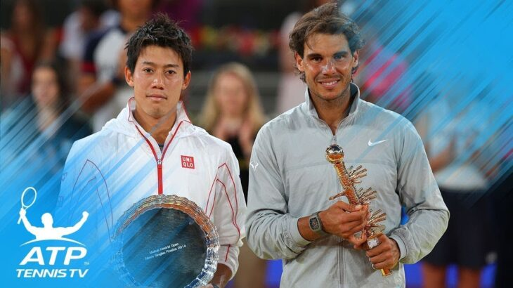錦織圭 Nishikori vs Rafa Nadal ラファエル・ナダル テニス