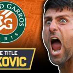 Novak Djokovic | Road to the Title : French Open 2021 | Tennis News