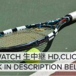 【TENNIS】錦織圭 vs アレクサンダー・ズベレフ ライブ 生放送 BNLイタリア国際テニス 2021年5月13日