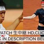 🔴【TENNIS】錦織圭 vs アレクサンダー・ズベレフ ライブ 生放送 BNLイタリア国際テニス 2021年5月13日
