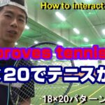 【TENNIS/テニス】18×20ラケット(RACKET)PowerUp