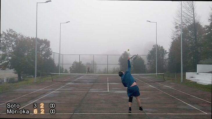 Tennis La Paloma2021 05 22 Set 02 ヨー君のアマチュアテニス
