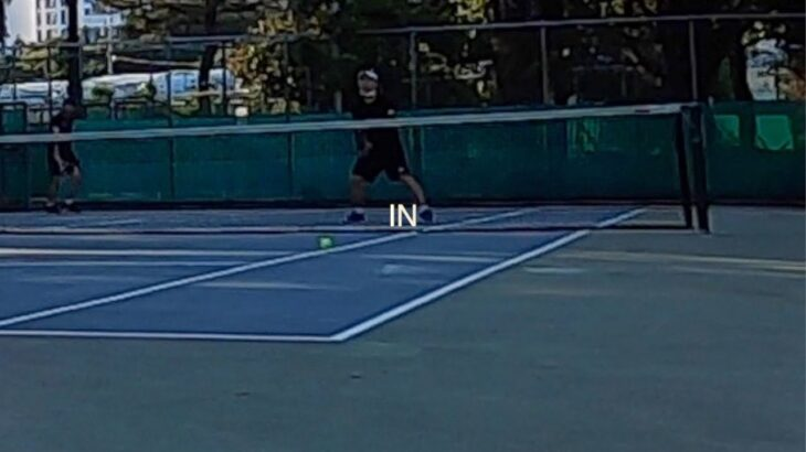Tennis before sunset  |  일몰 전 테니스  |  日没前にテニス