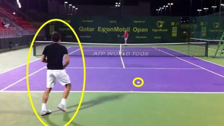 【テニス】フェデラーはこんなトレーニングをしている!!凄い!!【衝撃】federer toraining【tennis】