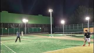 【テニス】発煙?燃えるサーブ??
