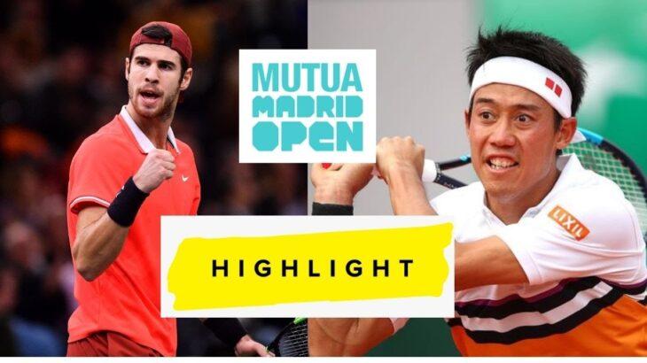 錦織 圭 vs カレン・ハチャノフ テニス テニス