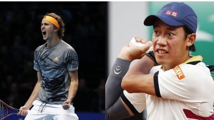錦織 圭 vs アレクサンダー・ズベレフ LAST MATCH  テニス