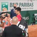 テニス=全仏男子、世界1位ジョコビッチがナダル下し決勝へ
