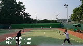 남양주에가다 테니스월드 덕균 영복 석훈 내기 20210606 TENNIS, テニス,网球, ten-nít, quần vợt,   Amateur Champion Doubles game